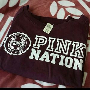 NWT PINK Nation pullover